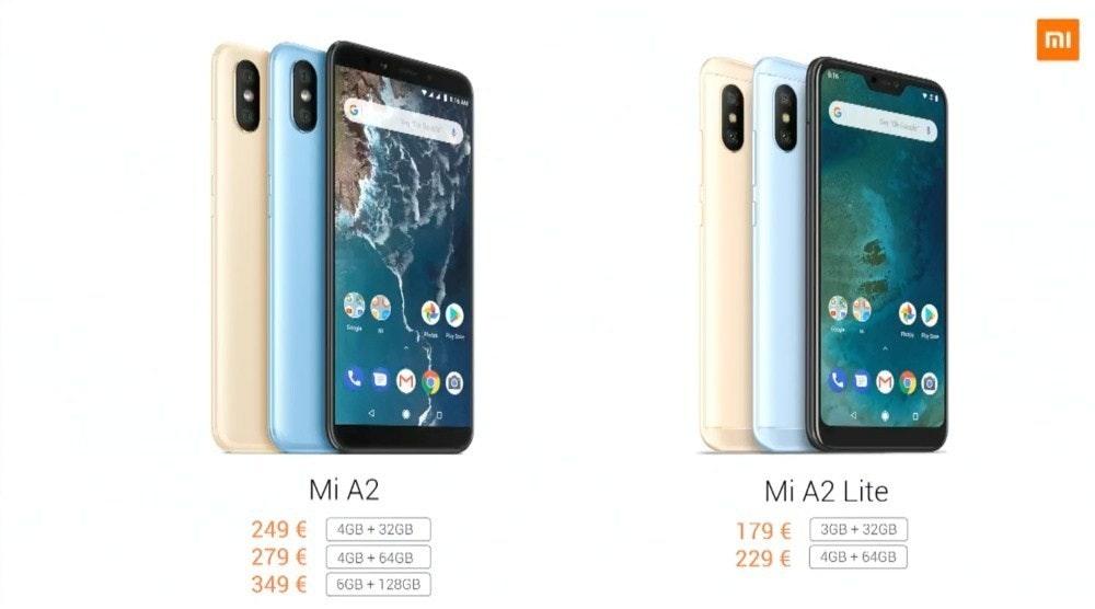 是小米A2、A2 Lite同台亮相 後者定為Android One親民入門機種這篇文章的首圖