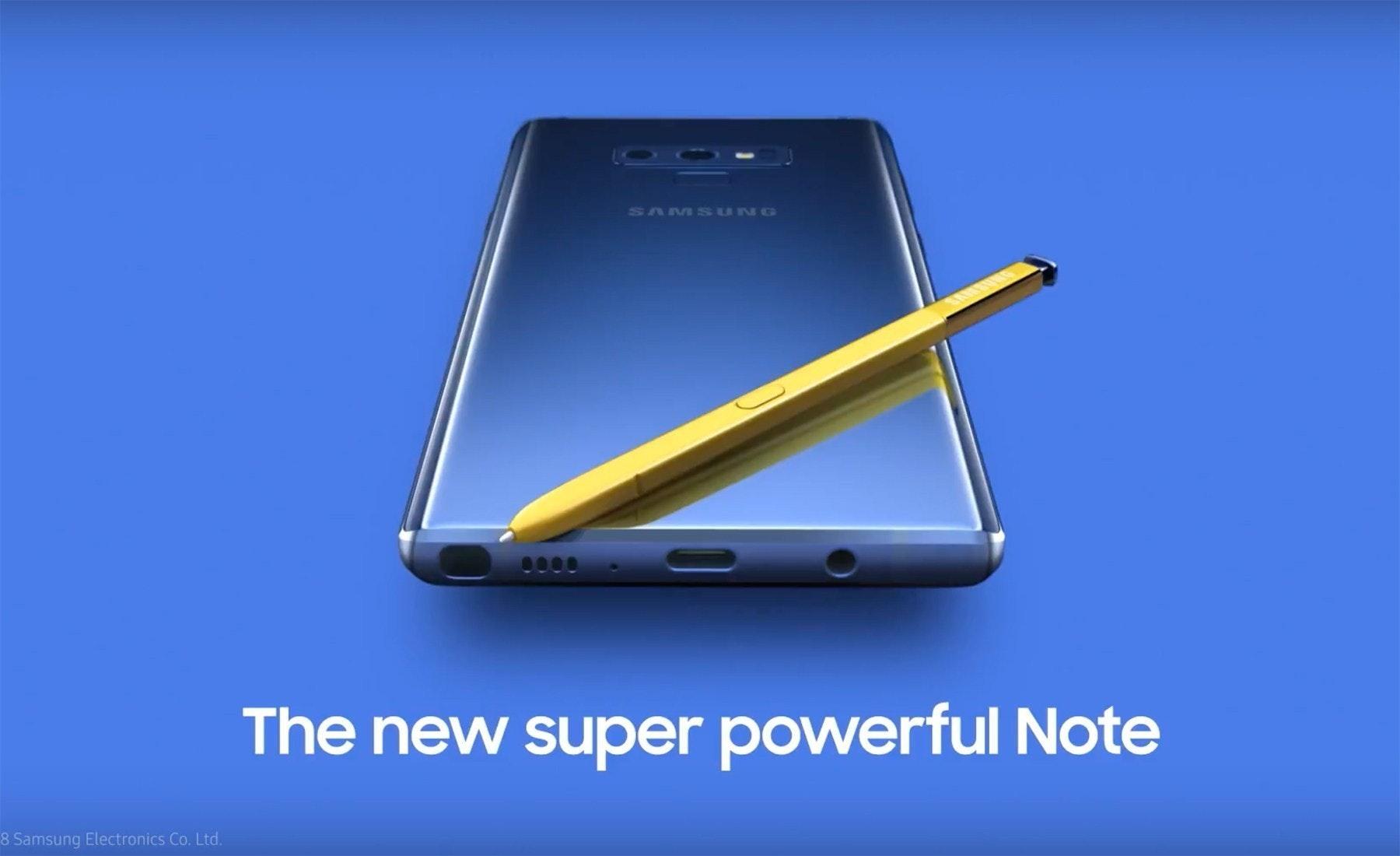 是Galaxy Note 9、Galaxy Watch更多消息曝光 確認新款S Pen支援無線充電這篇文章的首圖