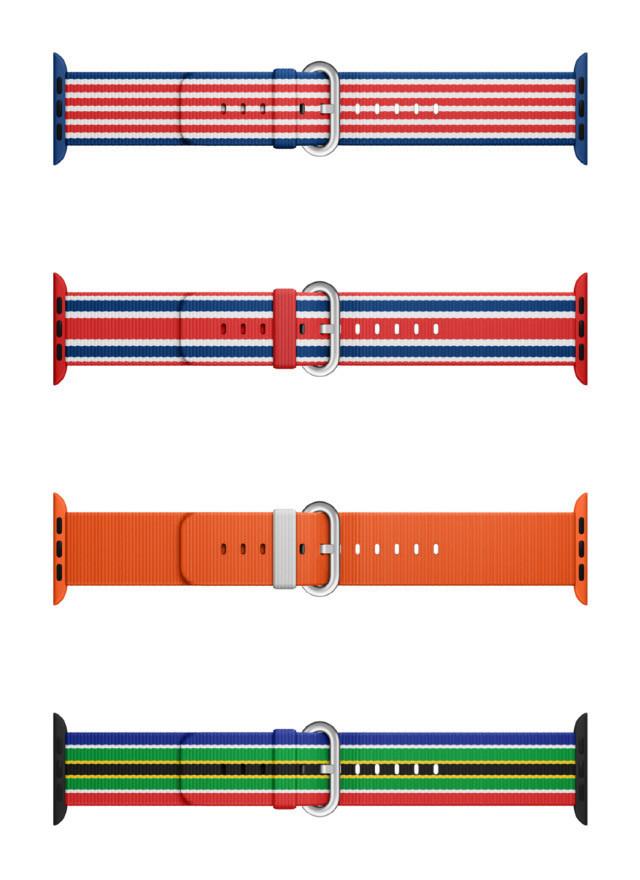 是配合奧運會的來臨Apple Watch推出14 款奧運特別配色錶帶,售價約RM 410,只在巴西發售!這篇文章的首圖