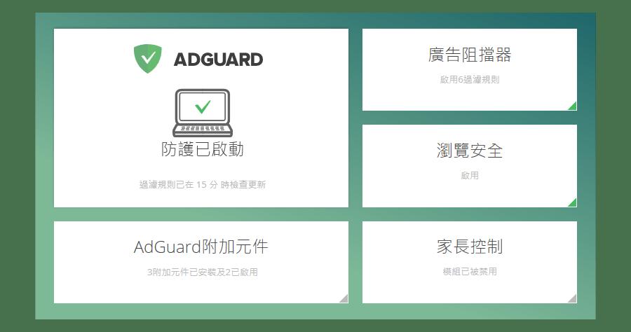 是【限時免費】AdGuard 阻擋廣告、阻擋惡意軟體、阻擋釣魚網站、保護您的隱私這篇文章的首圖