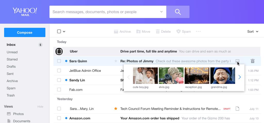 是Yahoo信箱再次更新 存取效率提昇、操作介面加入客製化這篇文章的首圖