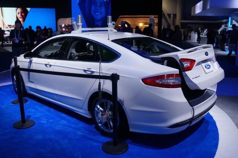 是福特、IBM攜手改善交通效率 強化無人車發展這篇文章的首圖