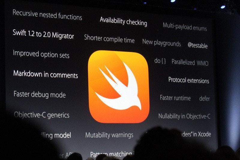 是蘋果程式語言Swift正式成為開放原始碼架構這篇文章的首圖