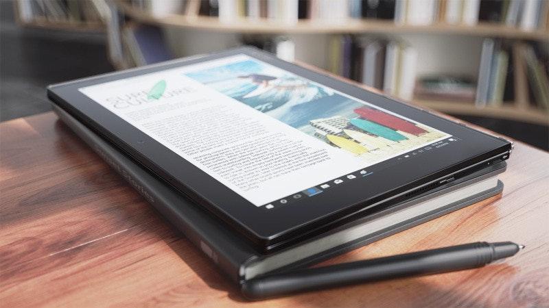是聯想全新Yoga Book系列 搭載對應手寫機能的特殊觸控板鍵盤這篇文章的首圖