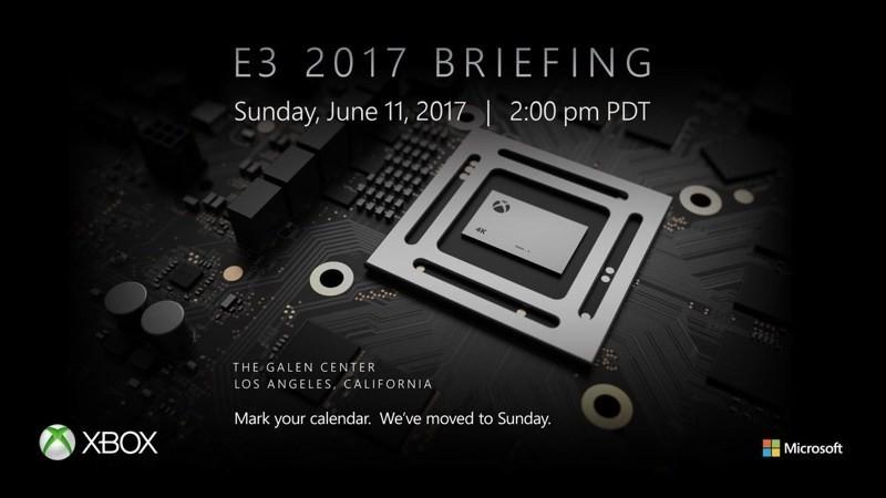 是微軟確認E3 2017展前活動時間 將揭曉全新電玩主機這篇文章的首圖