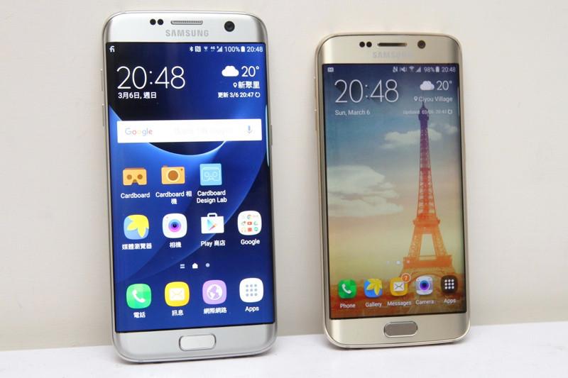 是動眼看/Galaxy S7 edge、S6 edge外型比一比這篇文章的首圖