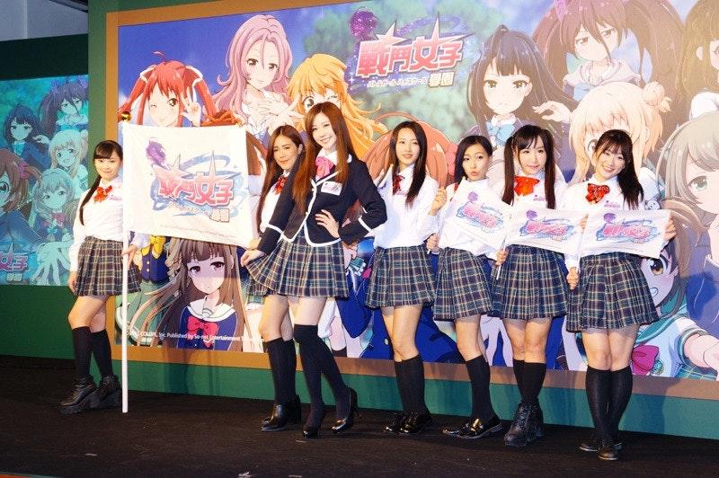 是《戰鬥女子學園》上線營運 將加入台灣高中制服這篇文章的首圖