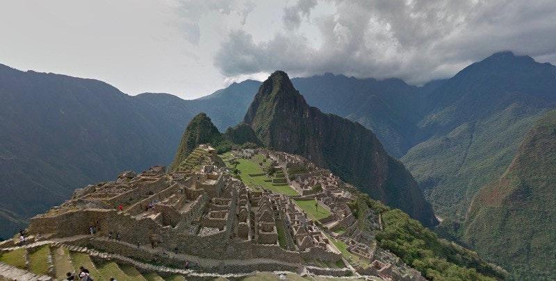 是探尋古印加帝國 Google街景踏入祕魯馬丘比丘這篇文章的首圖