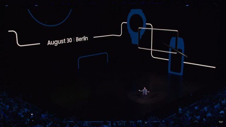 是昨晚的新品發布會有彩蛋?!Samsung新一代Gear S手錶要在8月30日IFA上發布!這篇文章的首圖