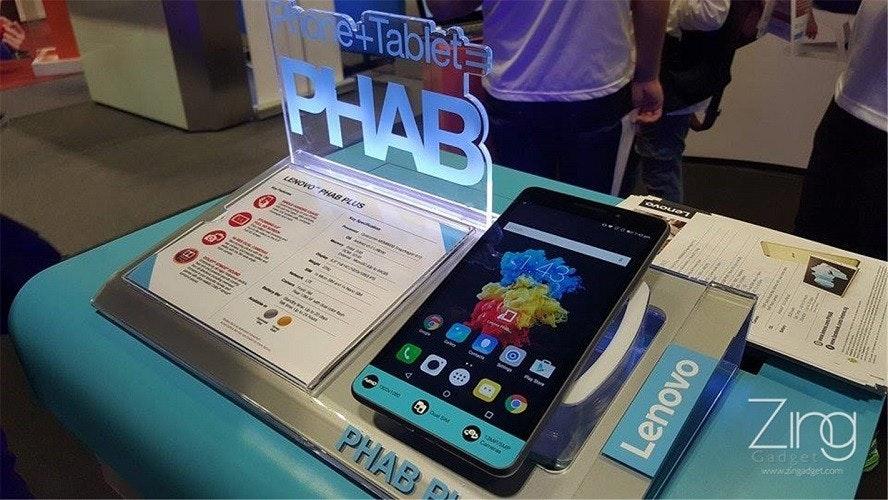 是Lenovo Phab Plus獨家圖賞!! 錯覺之下還以為是iPhone 6 Plus放大版這篇文章的首圖