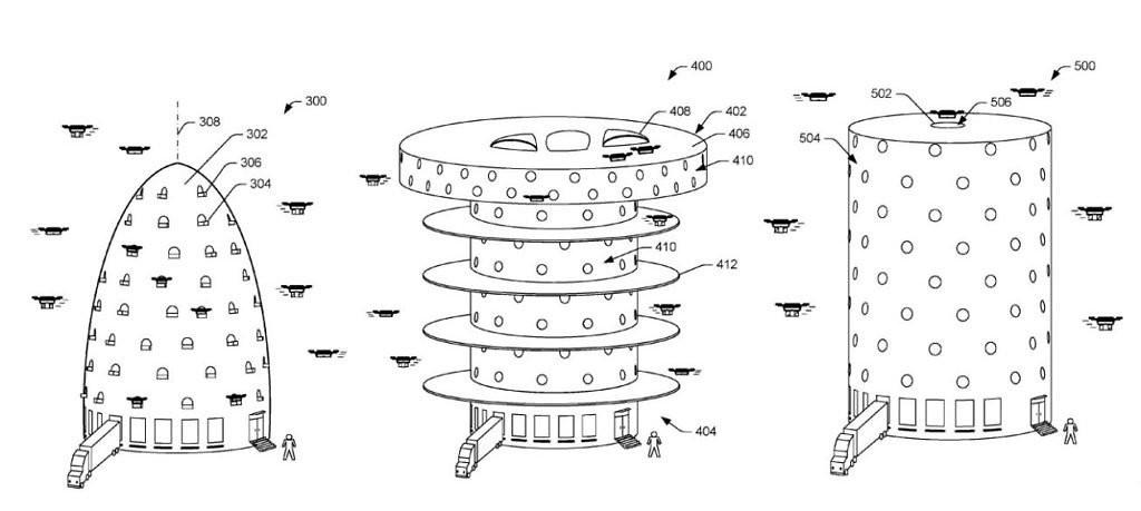 是【TechRitual】Amazon 發表的無人機物流塔專利,做法可以像驛站一樣這篇文章的首圖