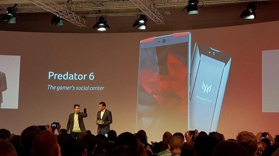 是為遊戲而生!Acer發布10核手機-Predator 6 !帥爆全場!這篇文章的首圖