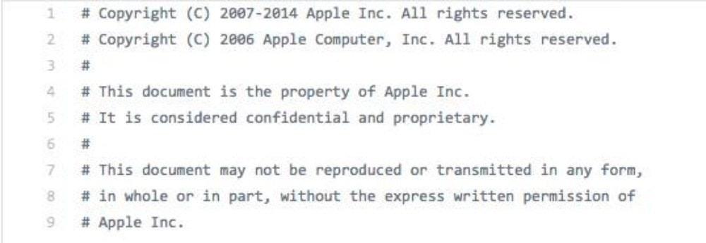 是近期曝光的iBoot開機引導程式原始碼,原來是當年蘋果實習生外洩這篇文章的首圖