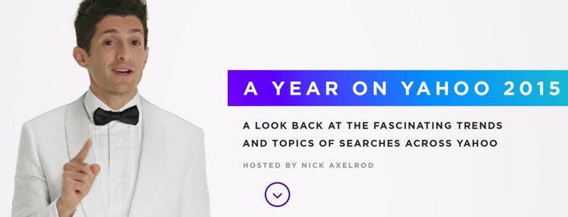 是Yahoo揭曉年度熱門搜尋 以頒獎形式呈現這篇文章的首圖