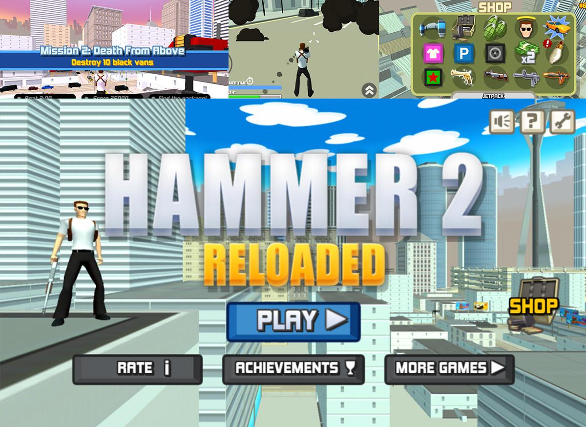 是《Hammer2》萬惡的城市 俠盜來飆車吧!這篇文章的首圖