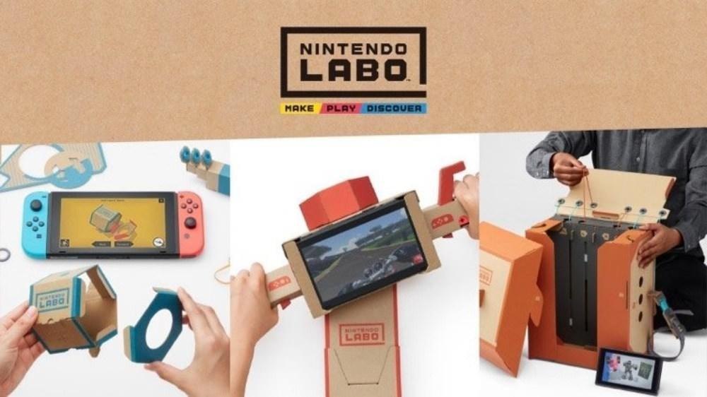是《任天堂實驗室》實現更多Switch體感遊玩模式 更能促進親子互動體驗這篇文章的首圖
