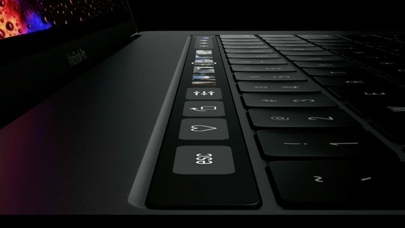 是蘋果花費兩年打造Touch Bar 定位在於鍵盤功能「延伸」這篇文章的首圖