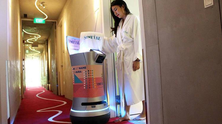 是旅館裡最忠實的管家- Aura機器人這篇文章的首圖