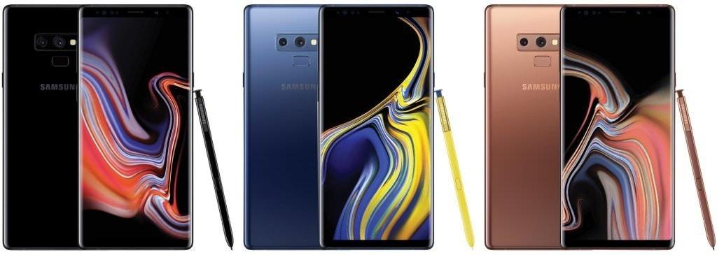 是疑似Galaxy Note 9官方宣傳圖像曝光 預期推出黑、藍、金銅三款配色這篇文章的首圖