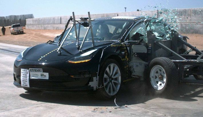 是美國官方機構認證:特斯拉 Model 3 被評全球最安全汽車!這篇文章的首圖