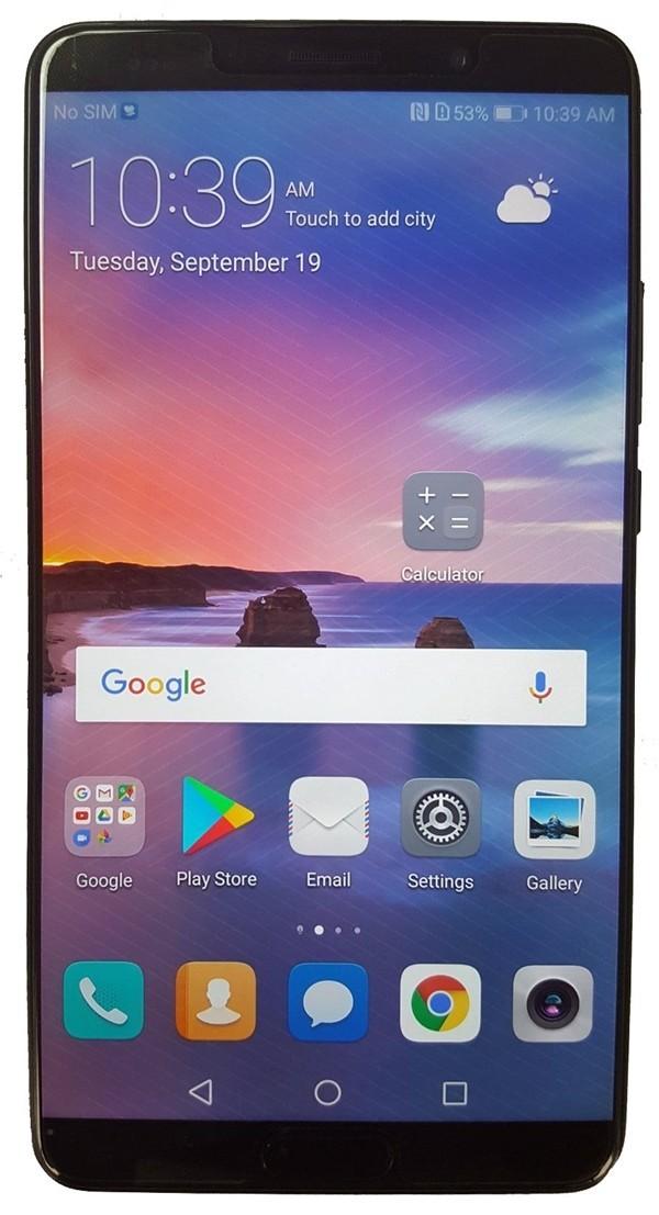 是Huawei Mate 10 Pro亮屏渲染圖首曝:前置指紋識別,還很有可能支援面部/虹膜識別?!這篇文章的首圖