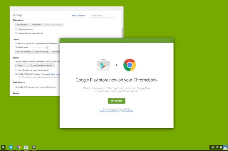 是Google Play Store服務將進駐Chromebook這篇文章的首圖