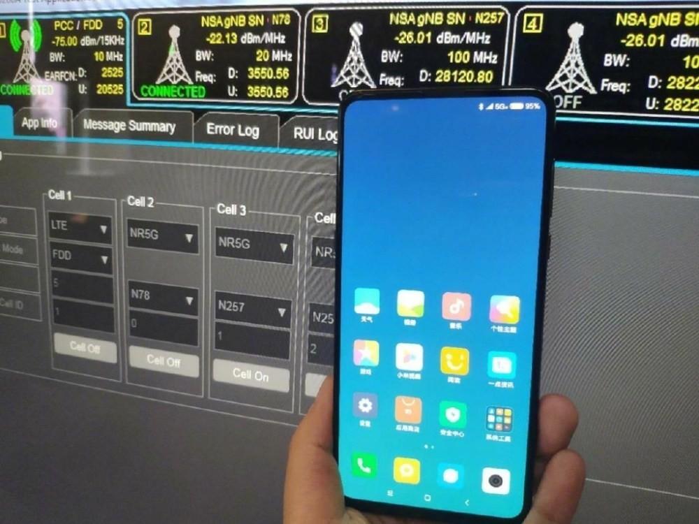 是小米展示旗下支援5G連網手機 但預期最快還是要等明年才會推出的第2張圖