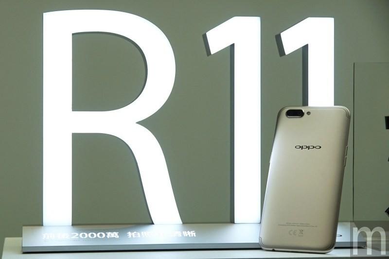 是前後2000萬畫素相機 Oppo R11確定7/1以以15990元價格在台上市這篇文章的首圖