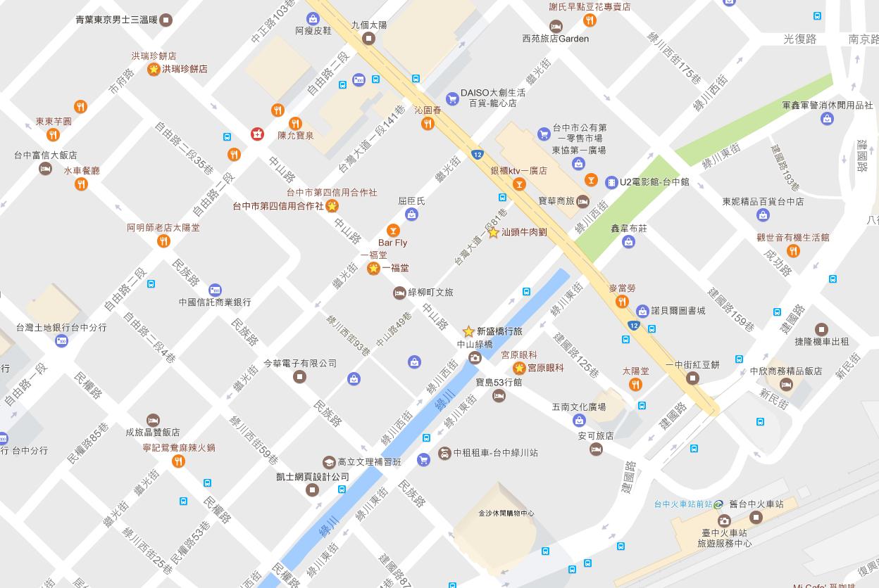 是【台灣.台中】「新盛橋行旅」- 火車站旁邊的住宿還有一日遊這篇文章的首圖