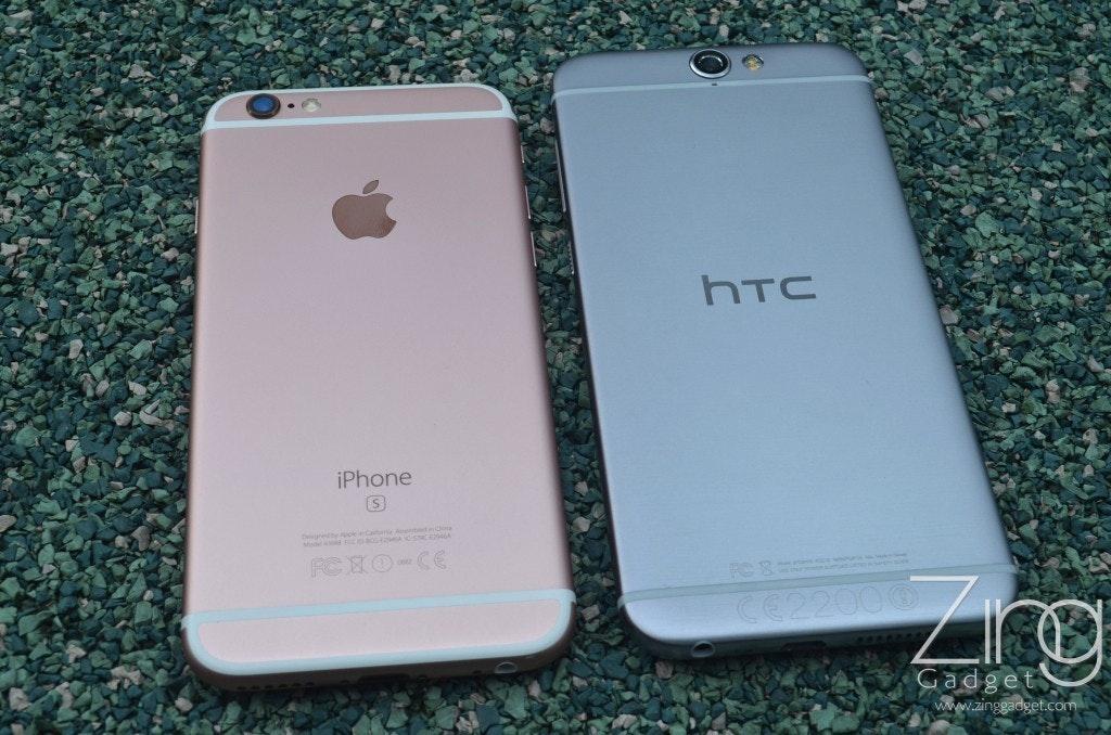 是[外型評測] 失散多年的孖生兄弟? iPhone 6s vs HTC ONE A9這篇文章的首圖