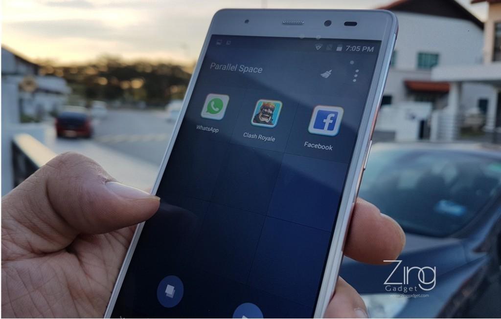 是雙開WhatsApp、FB、微信甚至是Clash Royale不是夢!Leagoo T1內建Parallel Space功能太強大了!這篇文章的首圖