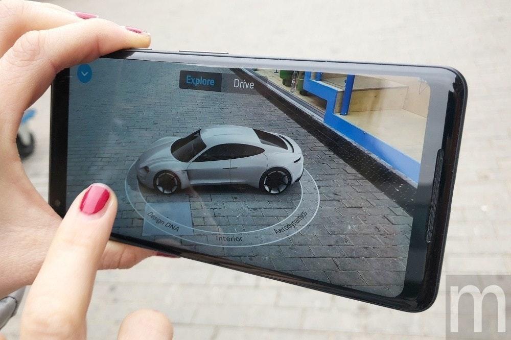 是新版ARCore技術能用手機在擴增實境內互玩圈圈叉叉遊戲的第1張圖