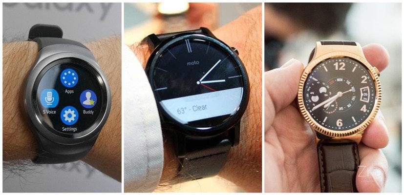 是Gear S2、Moto 360、Huawei Watch!!誰家智能手錶更具吸引力??這篇文章的首圖