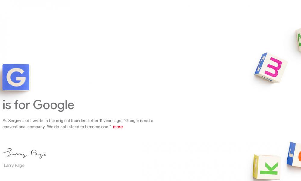 是橫空出世的Alphabet怎麼一夜間將Google收在旗下成為全球最大的科技公司?!!這篇文章的首圖