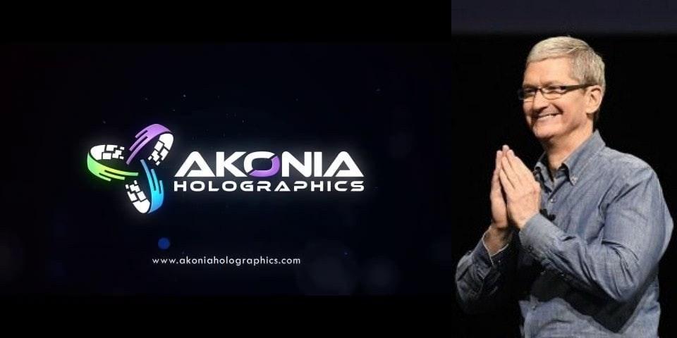 是蘋果收購Akonia Holographics 意在強化擴增實境影像技術?這篇文章的首圖