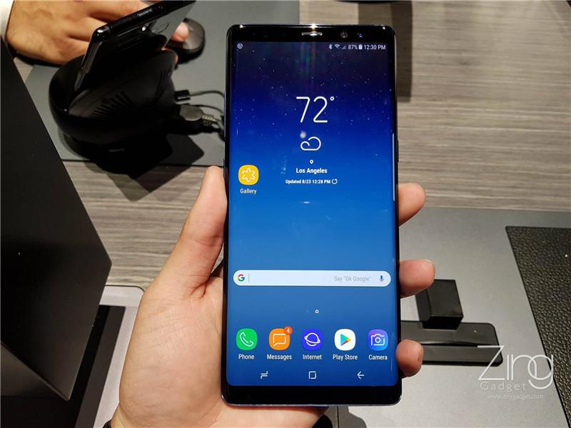 是Samsung Galaxy Note 8紐約現場上手玩!硬朗外型6.3寸Infinity Display,試玩加強版S Pen功能!這篇文章的首圖