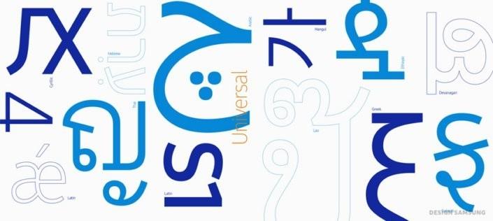 是Samsung設計自家字形統一界面風格!Galaxy Note 7有望首發SamsungOne!這篇文章的首圖