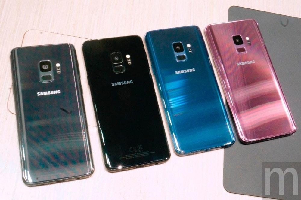 是動眼看/Galaxy S9系列外觀、周邊配件 與Galaxy S8+外型做比較的第7張圖