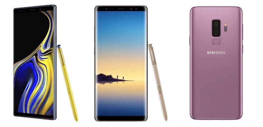 是比一比/Galaxy Note 9、Galaxy Note 8與Galaxy S9+要選誰?這篇文章的首圖