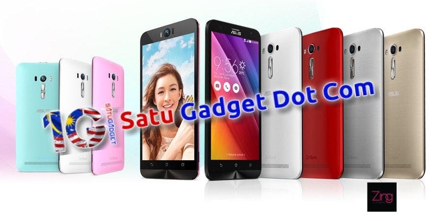 是【好康】Satu Gadget已經有貨!! 原裝ZenFone 2 Laser只賣RM799!!這篇文章的首圖