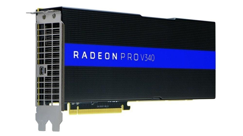 是讓公司以虛擬化方式佈署工作站運算效能 AMD推出雙GPU設計的專業繪圖卡Radeon Pro V340這篇文章的首圖