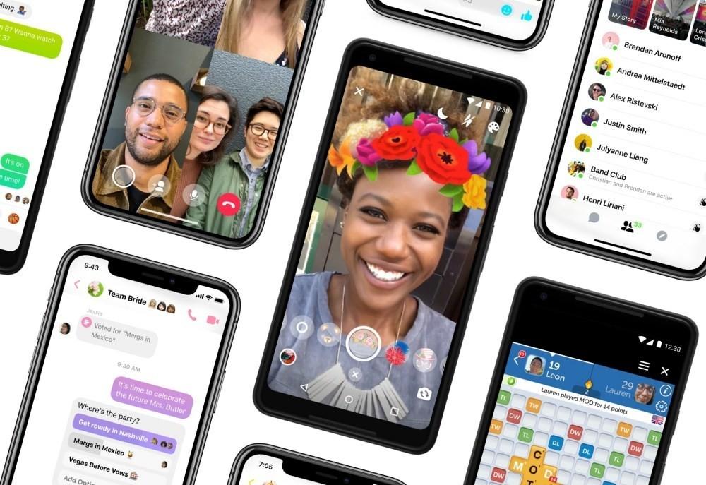 是Facebook Messenger換上簡化介面 加入更多互動、新增黑暗模式這篇文章的首圖