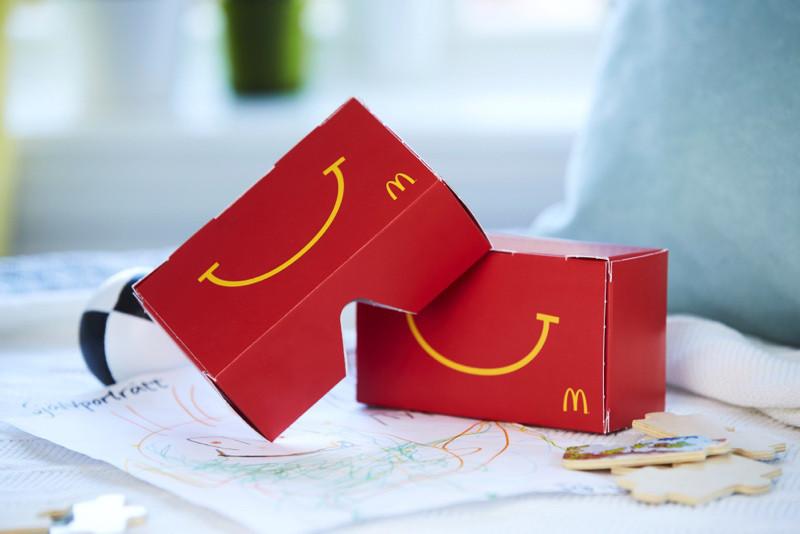 是瑞典麥當勞快樂兒童餐 加贈虛擬實境體驗這篇文章的首圖
