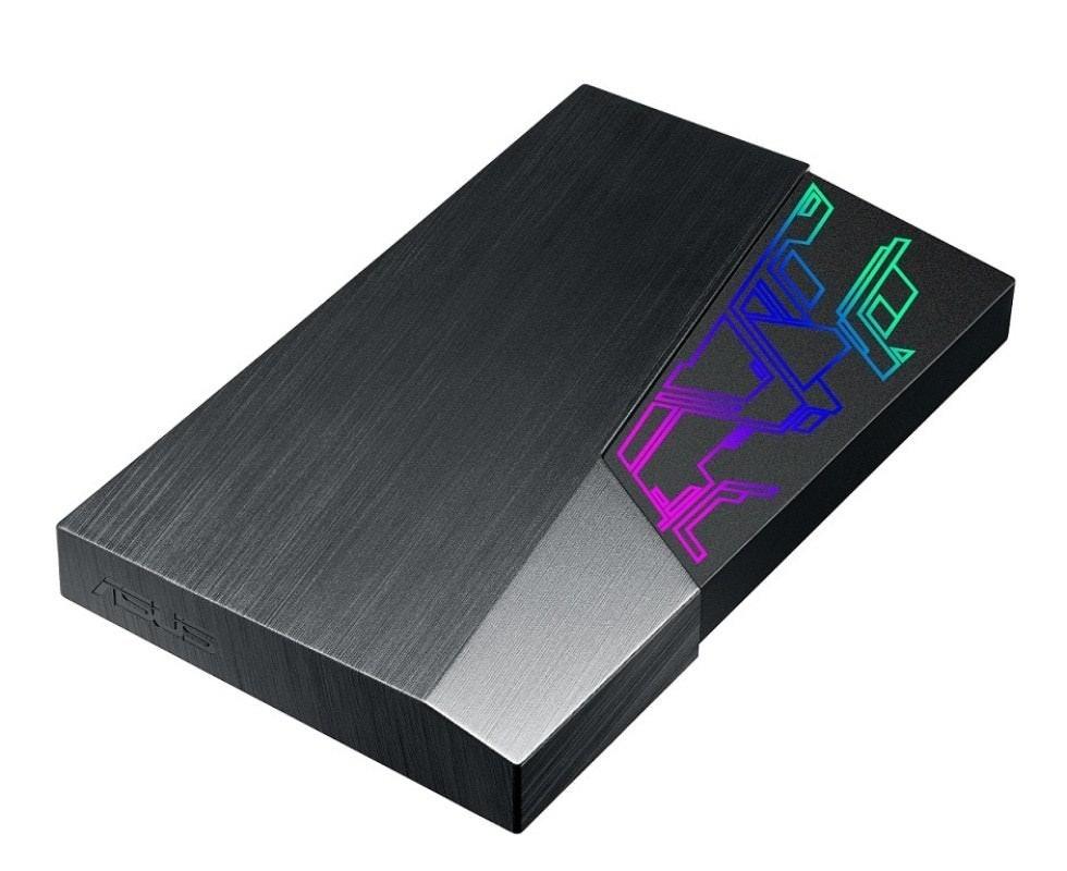 是呼應電競風格 華碩新款外接硬碟也加入Aura Sync同步燈效的第1張圖