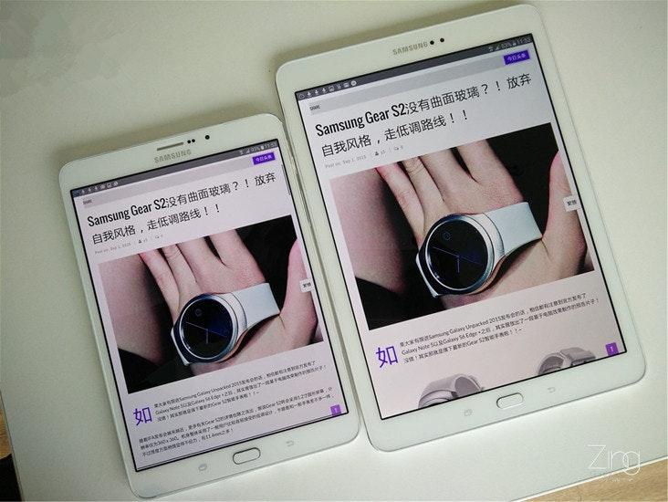 是大小Galaxy Tab S2到底有什麼分別?? 這裏教你如何選!!這篇文章的首圖