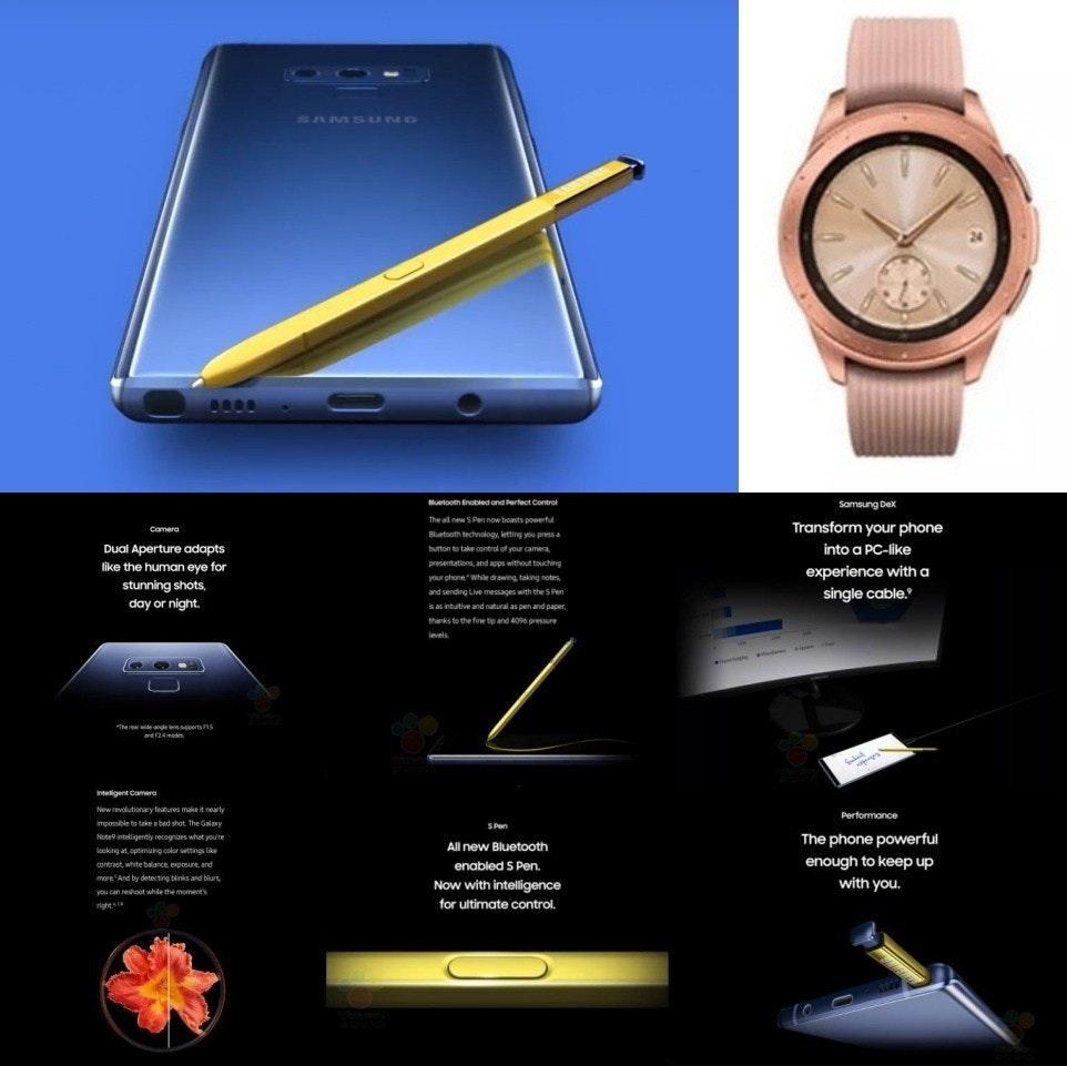 是整理/即將在紐約Unpacked活動揭曉的Galaxy Note 9、Galaxy Watch相關傳聞這篇文章的首圖