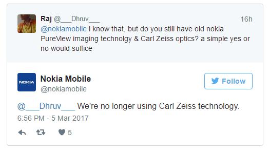 是Nokia官方:手機不會再採用Zeiss鏡頭,但會繼續在拍攝方面進行新研發!這篇文章的首圖