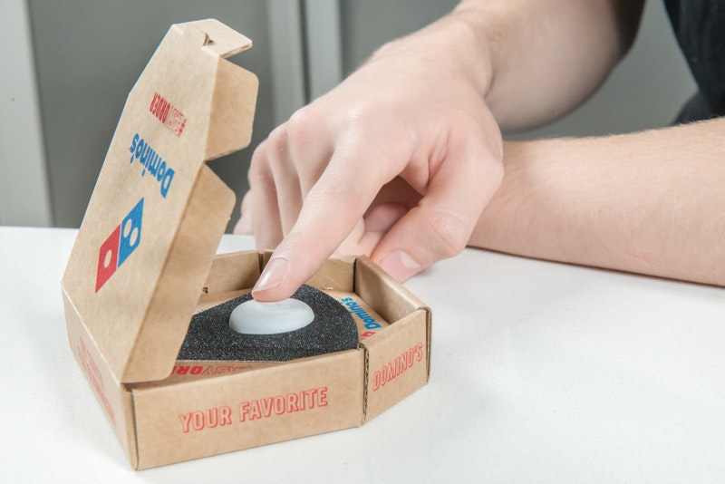 是達美樂推實體按鈕配件 按下就能訂披薩這篇文章的首圖