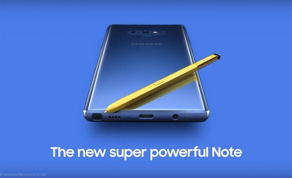 是三星意外曝光Note 9宣傳影片 確認儲存容量最高提供512GB版本這篇文章的首圖