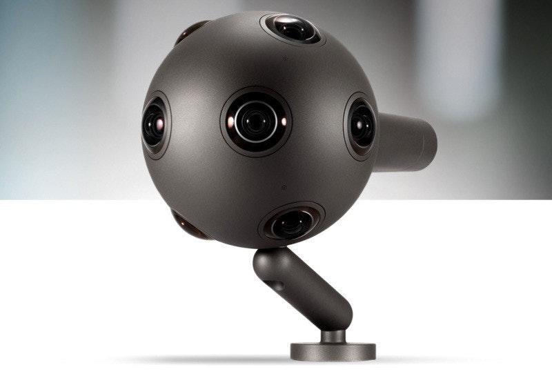 是Nokia球形攝影機OZO 要價6萬美元這篇文章的首圖